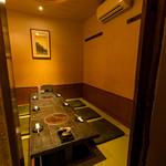 三福 - 周囲に気兼ねなくお過ごしいただける完全個室です