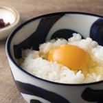 三木鶏卵さんの卵かけご飯
