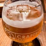 118729065 - 臺虎精釀のビール (氷を入れて飲むビール)