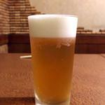 ビストロ ぱすとらる - 生ビール