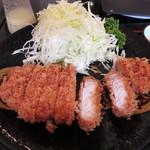 とんかつ 水龍 - とんかつ定食 アップ 900円