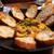 ビストロ ぱすとらる - 小海老とキノコのクリーム煮 アメリケーヌソース