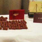 五感 - 某百貨店主催のチョコ試食会で食べた「樹々」。