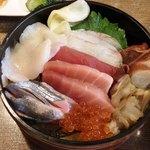 118730517 - 青森海鮮丼¥1,200