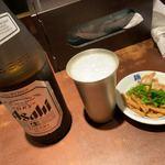 麺屋武蔵 武仁 - ビール