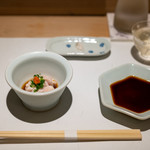 鮨の間 - 2019.10 雲子(鱈の白子)ポン酢