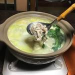 池富 - 鶏肉が柔らかく煮き上がりました