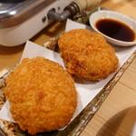 ホルモン鍋 暖 - お肉屋さんのコロッケ