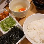 ホルモン鍋 暖 - 雑炊セット