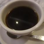 PIZZERIA CAPOLI - ホットコーヒー