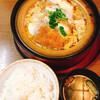 田むら銀かつ亭 旧館 - 料理写真:豆腐かつ煮定食 1380円