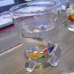 ふくじゅえん - お水のグラス