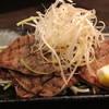 縁家 - 料理写真:薄切りタンの焼きしゃぶ