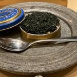 鮨・酒・肴 杉玉 - キャビア寿司一貫(笑) ¥299