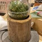 鮨・酒・肴 杉玉 -  ガチャガチャのカプセルに入ってました(笑)