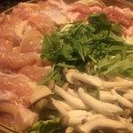 全国日本酒×和食個室居酒屋 うまい門 - 豚バラ肉&鶏肉 旬野菜の蒸籠蒸し鍋