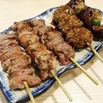 Aburishimizu - おまかせ串盛り 5本 680円