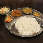 Sauryaajiandaininguandoba - ネパール定食 タリ