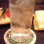 CHIYO - いいちこ水割り525円也