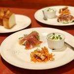 カクタスハウス - 前菜