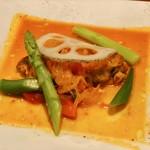カクタスハウス - 若鶏とパプリカのローマ風トマト煮