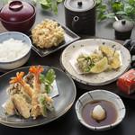 天ぷら つな八 - 季節メニュー 萩(はぎ)