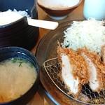 勝富 - チキンカツランチ
