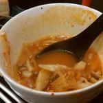 焼肉 比嘉家 - 比嘉家の辛スープ