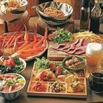 ぶどうの丘 - ズワイ蟹or自家製ローストビーフ