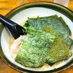 知ったかぶりのブタ - トロチャーシューメン(850円)+のり(50円)