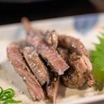 明神丸 - 鰹ハランボの藁焼き(480円)