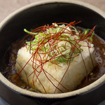 ぐつぐつ煮込みのピリ辛麻婆豆腐