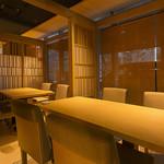 旬彩和食 うえの山 - 個室4名~10名までのテーブル席