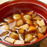 旬彩和食 うえの山 - 岩手久慈市の名物料理_まめぶ汁