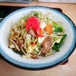 お食事処 藤 - 野菜炒め アップ