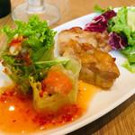 マンゴツリーカフェ - 前菜盛り