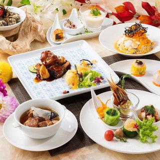 【接待・お祝いに最適】豊富なコース料理とドリンクが自慢!