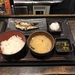しんぱち食堂 - 朝いわし定食