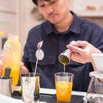 コンフォートスタンド - シーズナルブレンドオレンジジュース