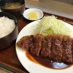 ももたろう - 料理写真:とんかつセット♪ 1.070円