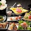 喜多八たらいうどん - 料理写真:会席風10品宴会コースがオススメ!
