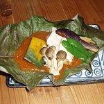 ごんべえ邑 - 朴葉焼き