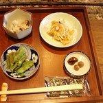 ごんべえ邑 - 箱膳の朝食