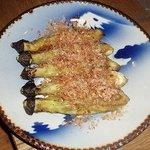 ごんべえ邑 - 大皿の焼き茄子