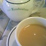前世喫茶 カフェ ローデストン - ミルクティー