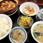 中国家常菜 しんた - マーボー豆腐定食_780円