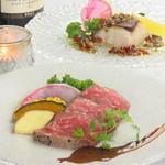 新宿 夜景 個室 肉割烹 牛若丸 - 料理写真: