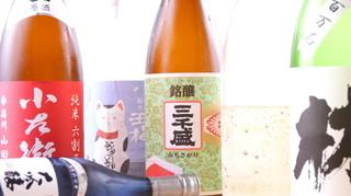 手打蕎麦 あすなろ - 日本酒