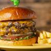 バーガーファクトリー - 料理写真:ダブルチーズバーガー