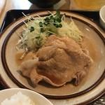 銀座いわた - 料理写真:豚の生姜焼き